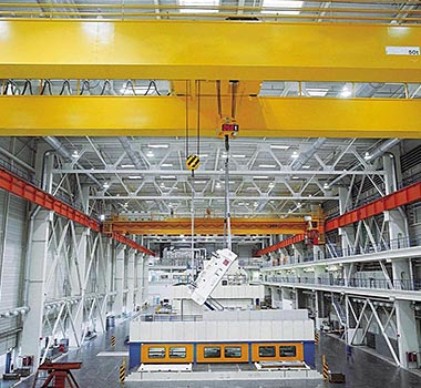 Light Weight European Double Girder Overhead