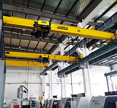 Light Weight European Single Girder Overhead Crane