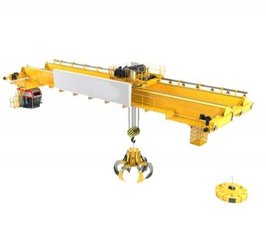 New Generation Scrap Grab Overhead Crane