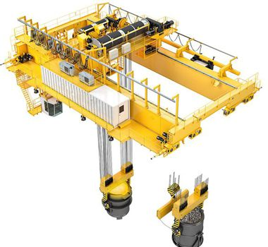 Foundry crane / Metallurgy Crane